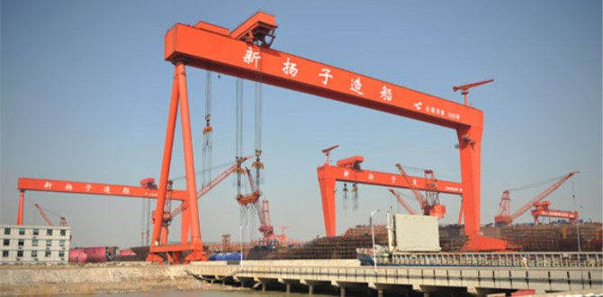 New orders  of Yangzijiang shipbuilding
