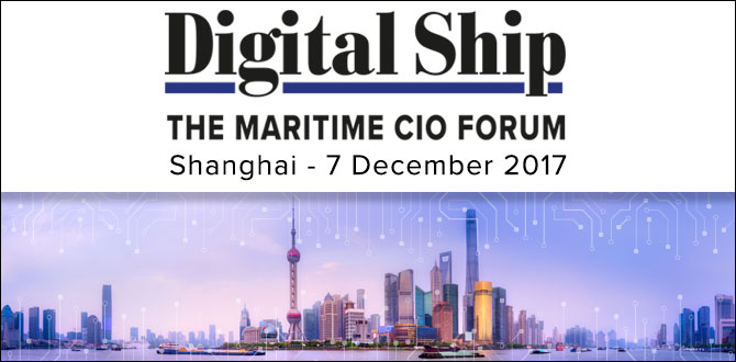 The Maritime CIO Forum Shanghai-7 December 2017,