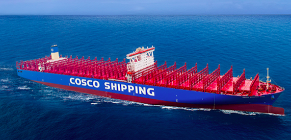 First Container Ship to Receive LR CES Notation