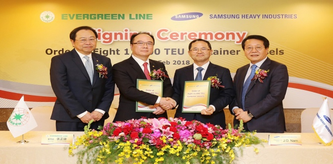 Evergreen Orders Eight 11,000 TEU Containerships