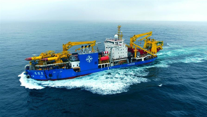Tiankun completes first sea trial