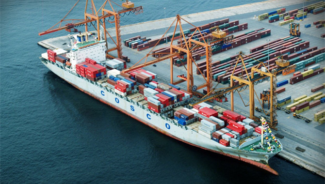 Cosco Shipping Ports'throughput up 12pc in June
