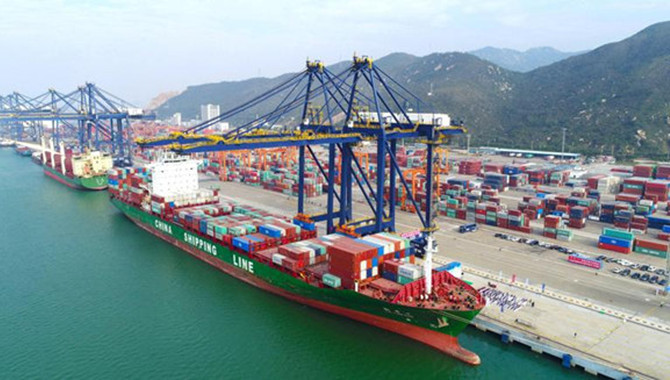 Zhuhai's ports busier,leading country in growth rat
