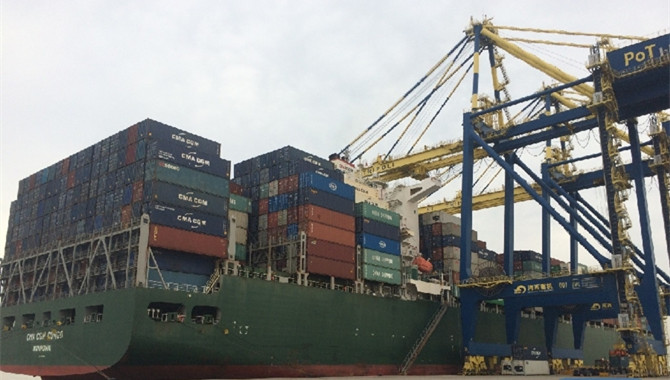 New shipping line opens between China,Tripoli port