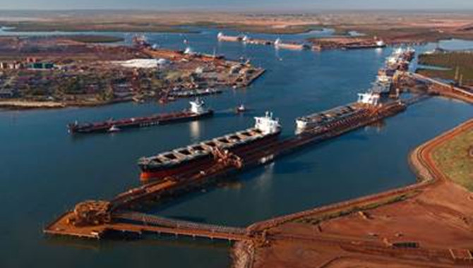 Port Hedland Iron Ore Shipments to China on the Ris