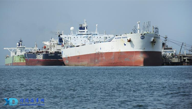 Energy-saving crude oil carrier debuts in northeast China_