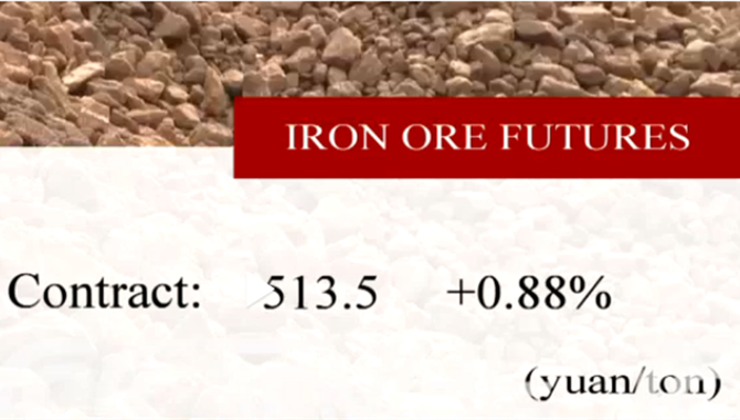 China's iron ore futures close higher Thursday