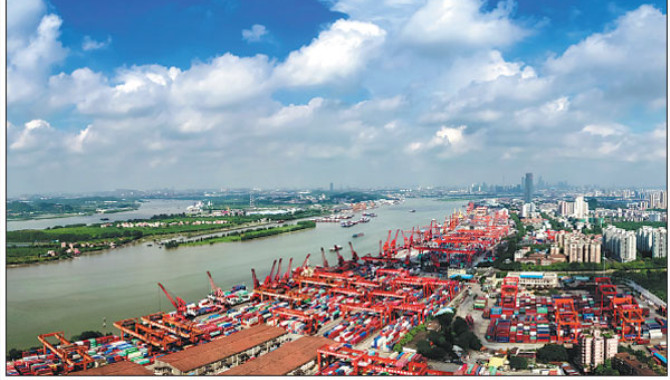 Huangpu Port boosts innovation for emerging industr