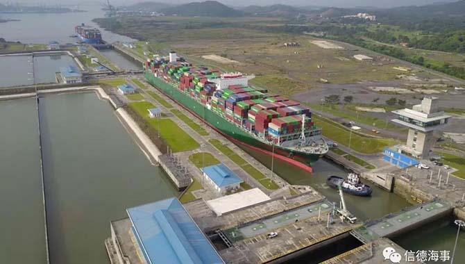【航情观察】2月15日起巴拿马运河正式征