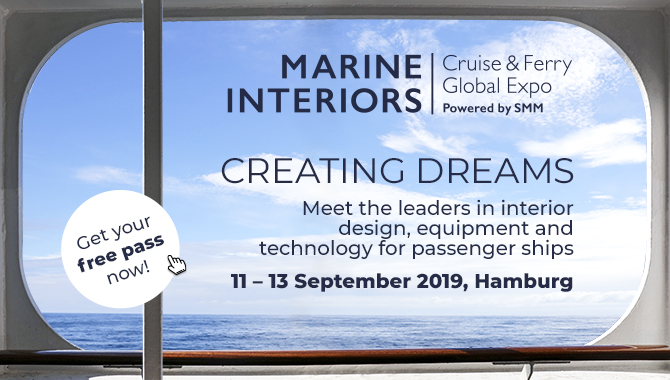 MARINE INTERIORS Cruise Ferry Global Expo