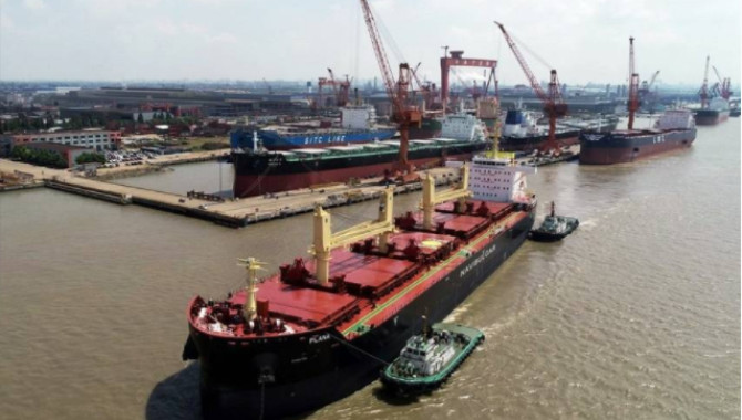 Jiangsu Builds Bulker for Navibulgar
