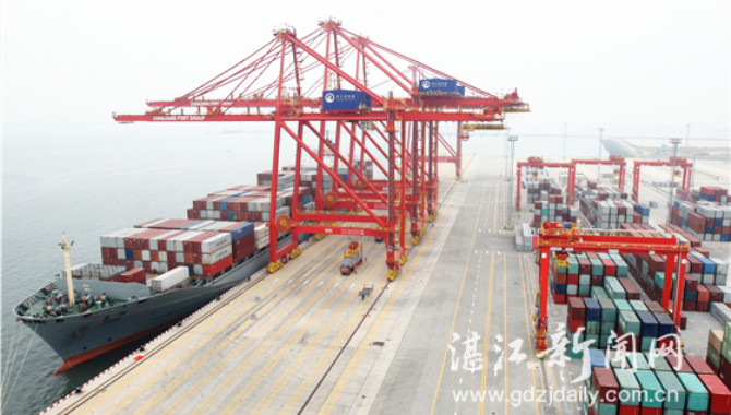 Zhanjiang Port strengthens economic cooperation wit