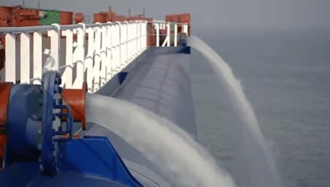 压载水接收设施的现在和未来