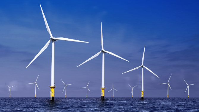 Offshore windfarms could provide enough electricity