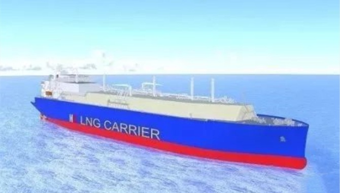 China Shipyard's First Large LNG Ship Order This Ye