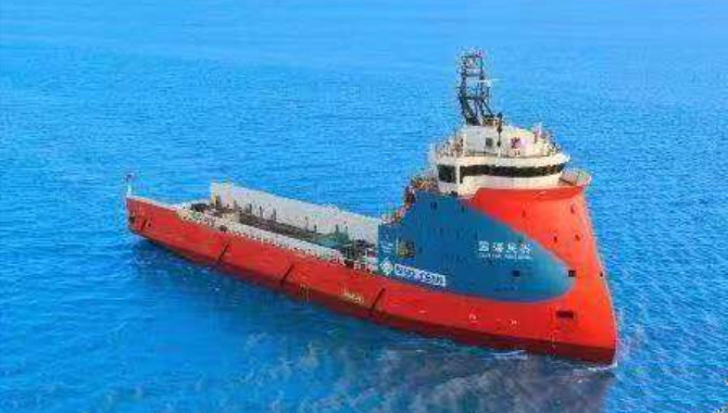 "The first PSV of Waigaoqiao Shipbuilding was ""suc"