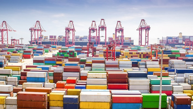 Chinese ports could see container volume down by 6m