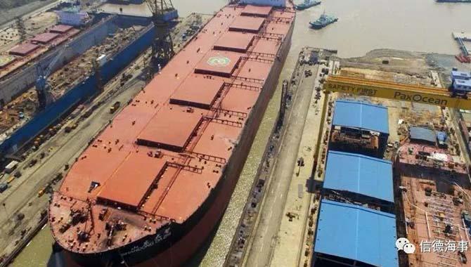 【航情观察】中国船企1月新船订单量全球