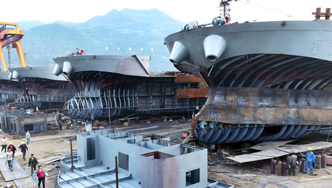 S. Korea lags behind China in new shipbuilding orde