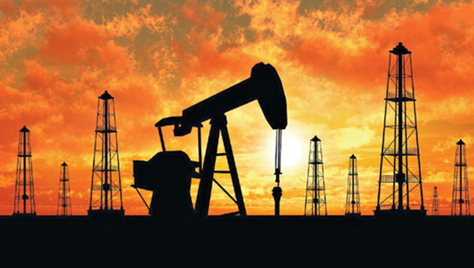 Oil prices fell sharply in response to a dramatic d