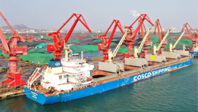 COSCO SHIPPING Successfully Completed the First Bau