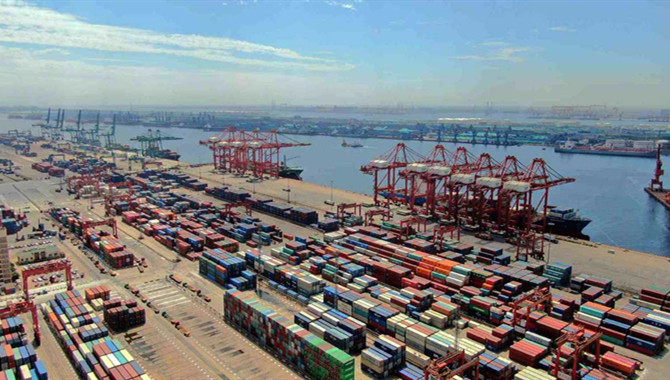 Port assists production resumption in Beijing-Tianj
