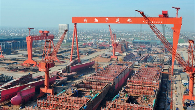Yangzijiang Shipbuilding won orders of up to $ 880