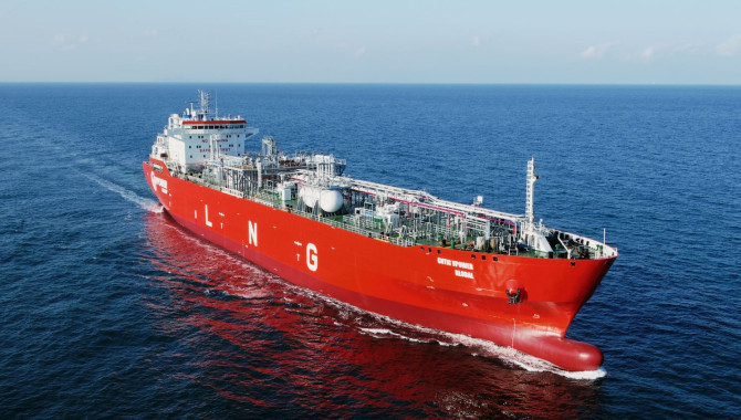 Cosco Shipping Heavy Industry delivers small LNG ca