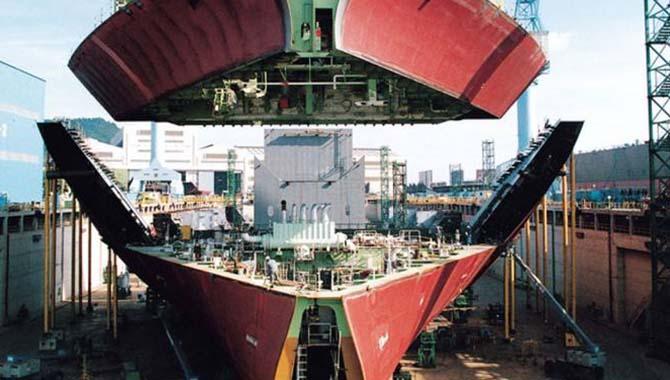 上半年全球造船的新接订单量创历史新低