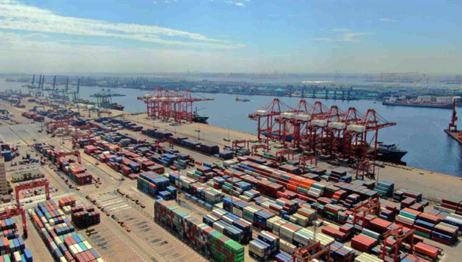 Tianjin Port posts rise in cargo throughput in H1