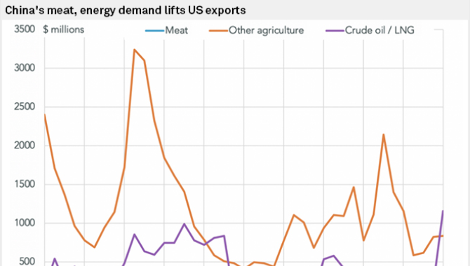 Rise in China's US LNG imports falls short of targe