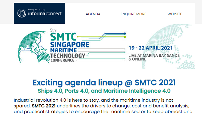 Exciting agenda lineup @ SMTC 2021